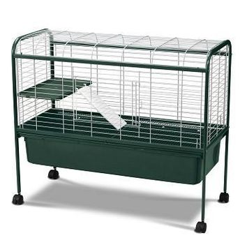Kaytee Welcome Home Rabbit Hutch, Large, Green 42""