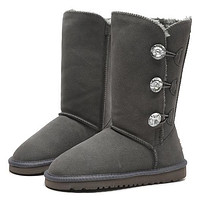 Tagre™ UGG Fashion Women Fur Wool Snow Boots In Tube Boots Shoes