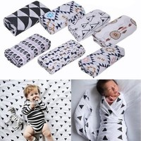 120*120cm Baby Blanket Bedding Covers Boys Girls Aden Anais Muslin Swaddle LUN [8322968257]