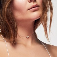 Free People Anais Delicate Necklace