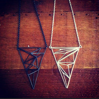SALE** 40%OFF 3D Crystallized Large Triangle/Ready to Ship