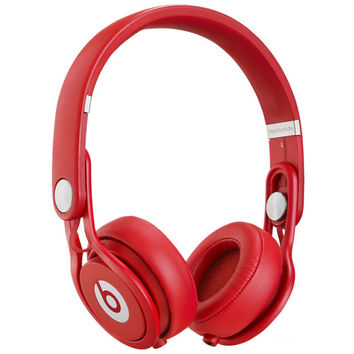 Beats By Dre Mixr Headphones Red One Size For Men 22247430001