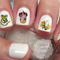 Harry Potter Nail Decals Nail art design
