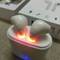 Wireless Bluetooth Rechargable Pods Earphones Earpods For iPhone or Samsung