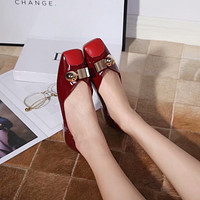 dior women casual shoes boots fashionable casual leather women heels sandal shoes 123