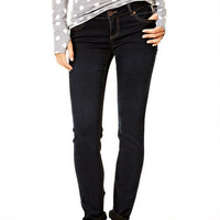 Olivia Low-Rise Jeggings with Bold Seams