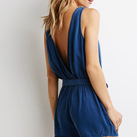 Life in Progress Surplice Back Romper