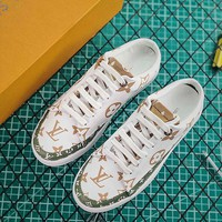 Louis Vuitton LV Stellar Low Sneaker Blanc/Moka - Best Online Sale