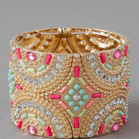LAVACA JEWELED CUFF
