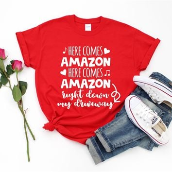 Amazon Christmas - Tee  - Ruffles with Love - Tee
