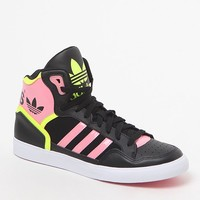 Black High-Top Sneakers - Womens Shoes - Black