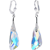 Aurora Crystal Inspire Dangle Earrings Created with Swarovski Crystals | Body Candy Body Jewelry