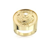 Kenzo Designer Rings Gold Plated Tiger Cyclop Ring