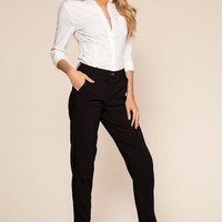 Now or Never Pants - Black