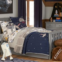 Star Wars™ Millennium Falcon™ Quilted Bedding | Pottery Barn Kids