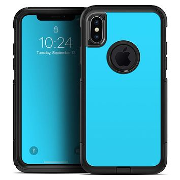 Solid Turquoise Blue - Skin Kit for the iPhone OtterBox Cases