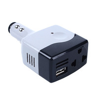 DC 12-24V to AC 220V Power Inverter Car Vehicle Travel Inverters Fit USB 5V Adapter Convertor 5W car-styling For Phone Mp3