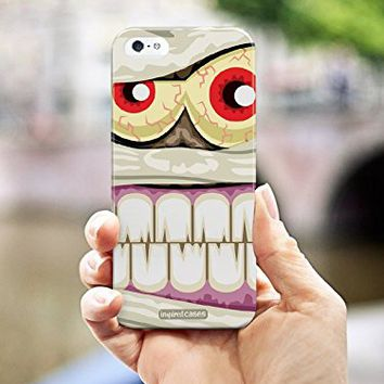 Inspired Cases 3D Textured Spooky Mummy Halloween Case for iPhone 6