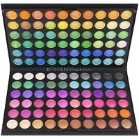 120 Colors Eye shadow Palette, Bold and Bright Collection, Vivid
