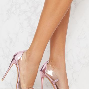 Lilac Metallic Clear Court