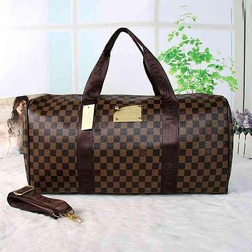 Louis Vuitton LV Women Travel Bag Leather Luggage Travel Bags Tote Bag