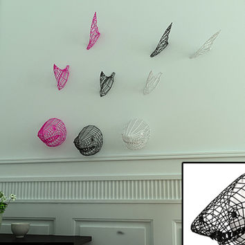 Shark swimming on your Wall :) by kipiripi on Shapeways