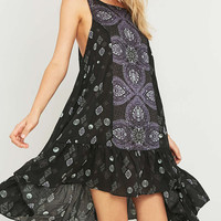Free People Into You Printed Slip Midi Dress - Urban Outfitters