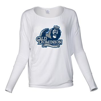 NCAA Old Dominion Big Blue RYLODU06 Women's Loose Pico Top