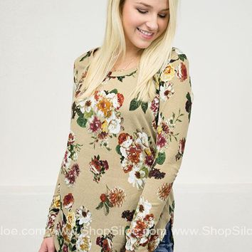 Autumn Floral Top