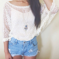 Vanity Lace Top - sold out