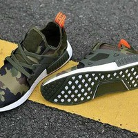 2018 Luxury NMD XR1 Mastermind X Camo Army Green For Men Women Running Shoes 2 Colors