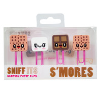 Sniff Its 4 Pack of S'Mores Paper Clips