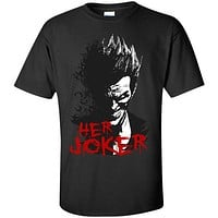Couple Collection - Her Joker - Men Short Sleeve T Shirt - SSID2016