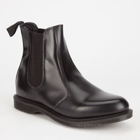 Dr. Martens Flora Chelsea Womens Boots Black  In Sizes