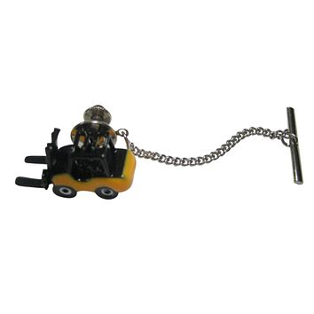 Colored Industrial Warehouse Forklift Tie Tack