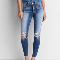 AEO Sateen X Hi-Rise Jegging, Livin' It Up
