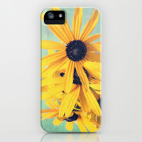 Sweet Yellow Flowers iPhone & iPod Case by Olivia Joy StClaire