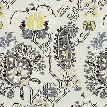 Robert Allen Fabric 240715 Aztec Flowers Sunray