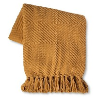 Threshold™ Chenille Diamond Throw