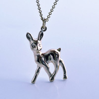 Bambi Sterling Silver pendant - Naive by Noga Berman // For her // Woman