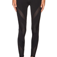 Lorna Jane Existence Paneled Full Length Tight in Black