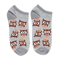 Dachshund Pattern Ankle Socks