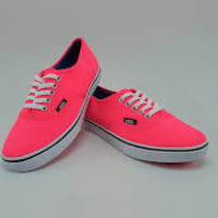 Vans Authentic(Neon)Red-Org