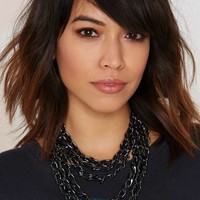 Chain Reaction Collar Necklace