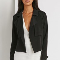 Open-Front Trench Jacket