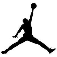 "5"" Michael Jordan Air Jordan Logo Custom Sticker"