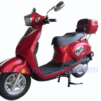 Roketa MCR-17Y-150 4 Stroke 150cc Gas Scooter with 95% Assembled Package (Free Rear Trunk)