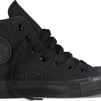 Converse Chuck Taylor All Star Hi Top Black Monochrome