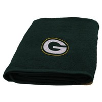 Green Bay Packers NFL Appliqué Bath Towel