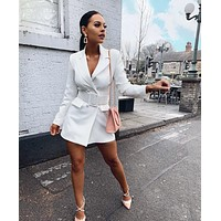 Casual Blazer Dress